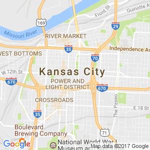 Kansas City Dumpsters Map